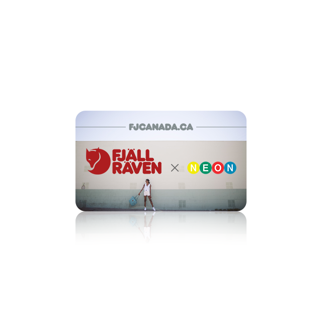 Fjällräven virtual gift card